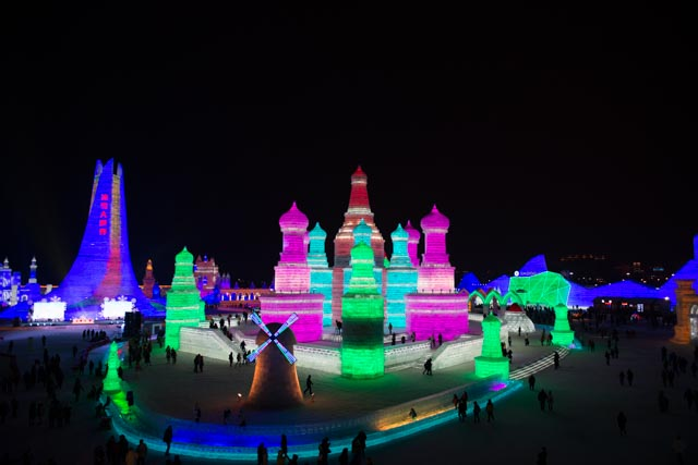 Harbin´s Ice and Snow festival 2016