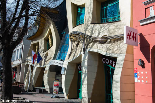 Little crooked house, Sopot