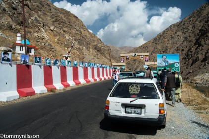 Checkpoint at the mouth of the Panjshir Valley
