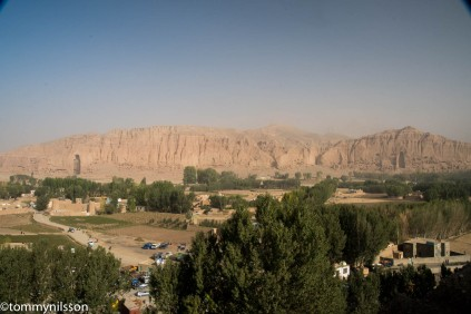 The Bamiyan Valley with the Buddha niches