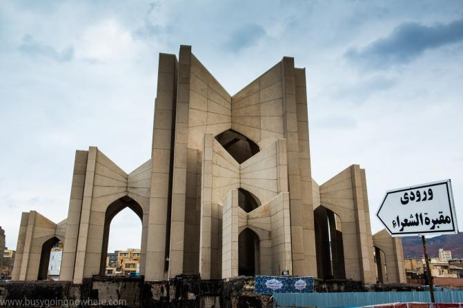 Tabriz. Poet´s Mausoleum