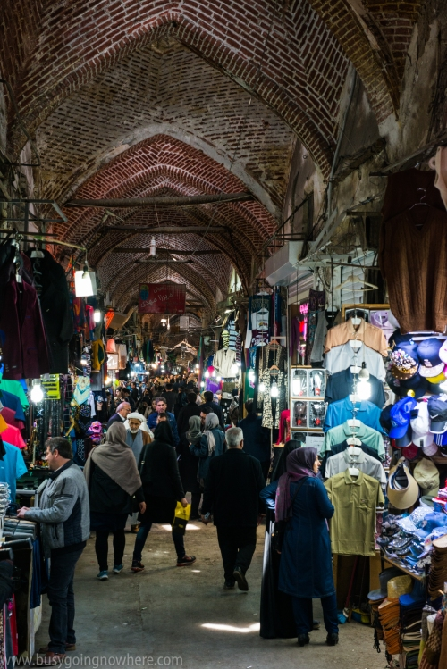 Tabriz. The old part of the bazaar