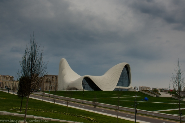 The unmistakable Heydar Aliyev Center