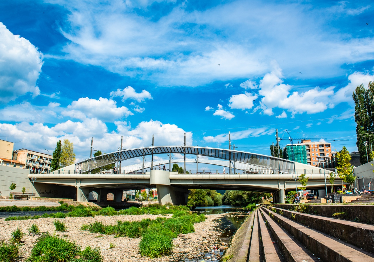 The New Bridge in Mitrovica