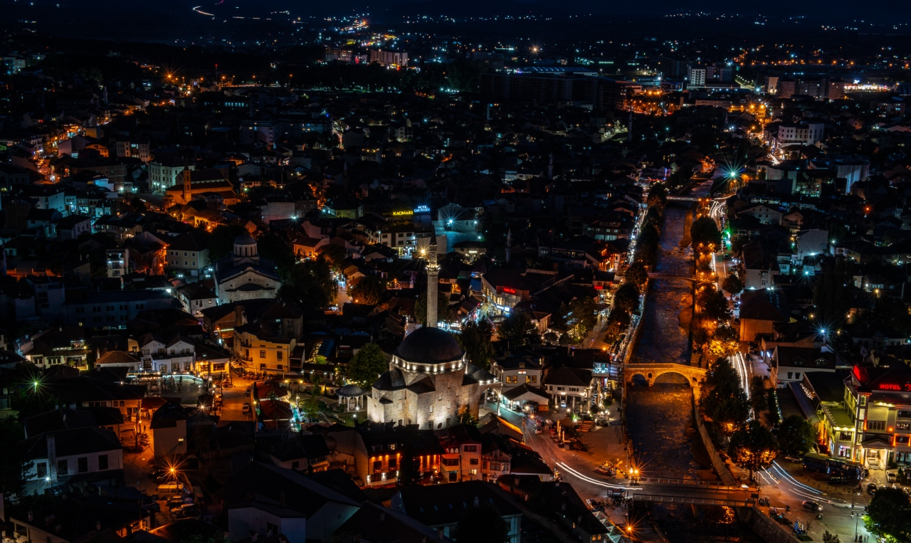 Night over Prizren
