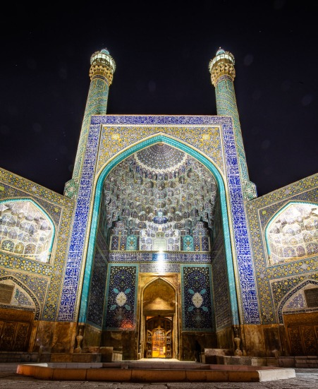 Abbasi Great Mosque, Isfahan
