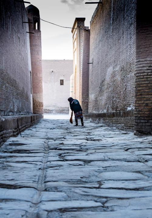 The Original Silk Road in Khiva