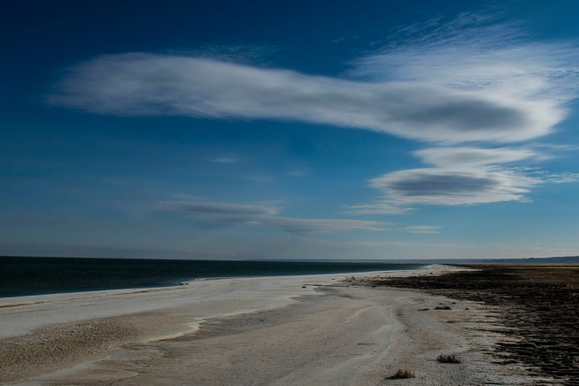 The remaining Aral Sea