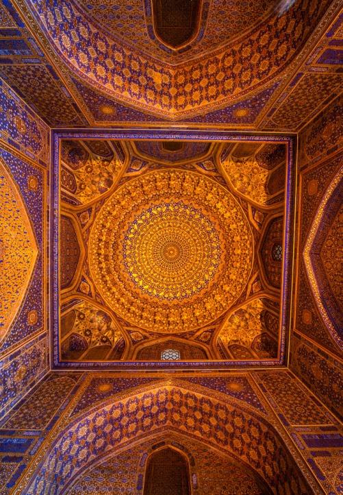 Tillya-Kori, Samarkand