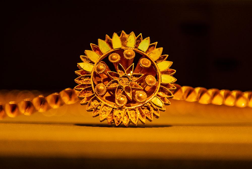 Smycke på Nationalmuseum i Beirut